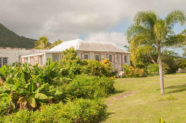 La villa typique créole