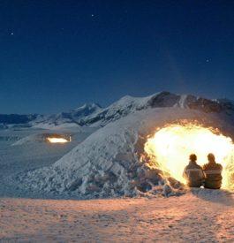 Hébergement insolite : dormir dans un igloo