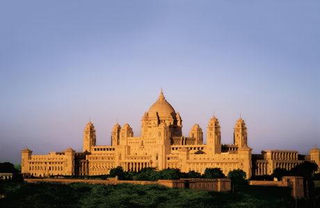 L'Umaid Bhawan Palace à Jodhpur - meilleur hôtel du monde