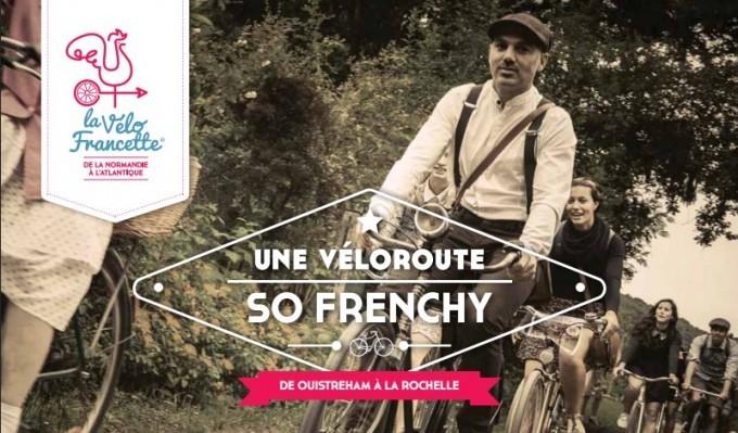 Le Vélo Francette® - itinéraire de 630 km balisés