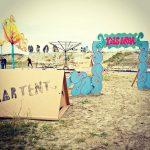 Hébergement insolite : la tente en carton Kartent