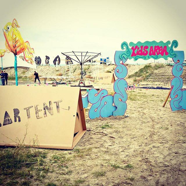 La tente en carton Kartent