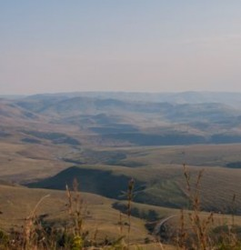 Filer au Drakensberg en Afrique du Sud