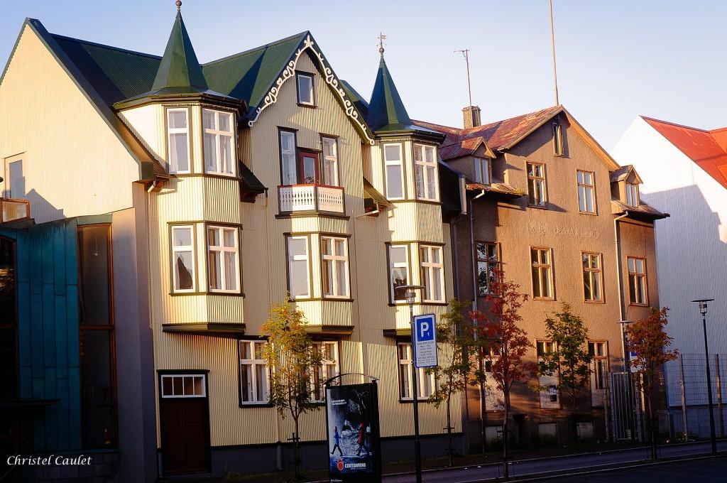 Le matin dans Reykjavik pour un voyage en Islande