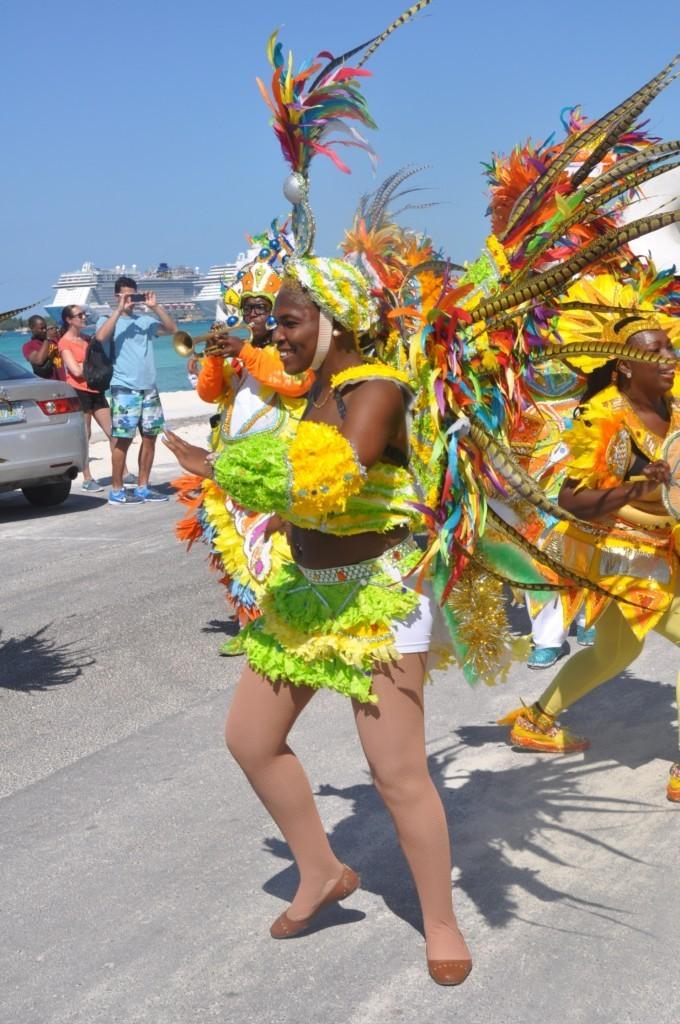 Ambiance lors de la parade du Carnaval
