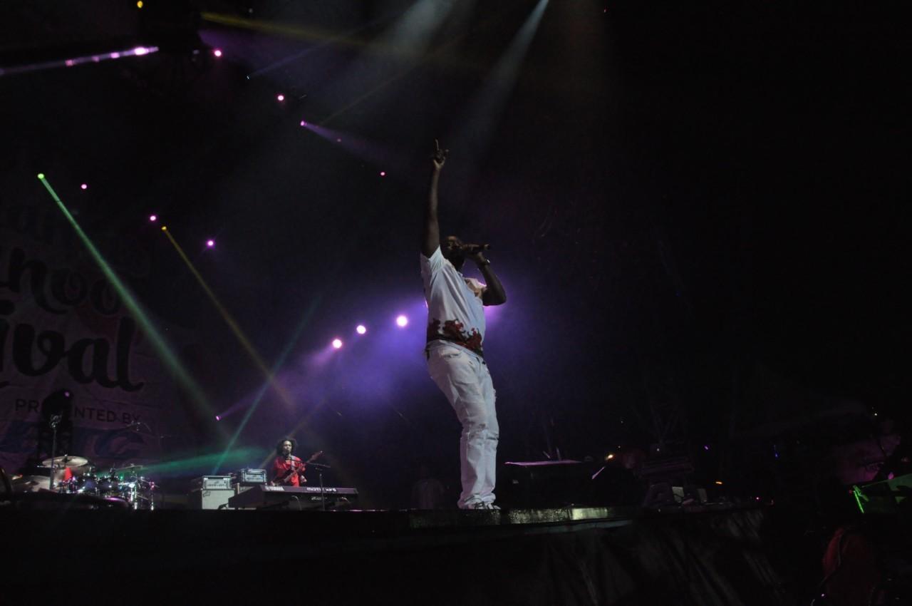 Wyclef en concert au Junkanoo Carnaval