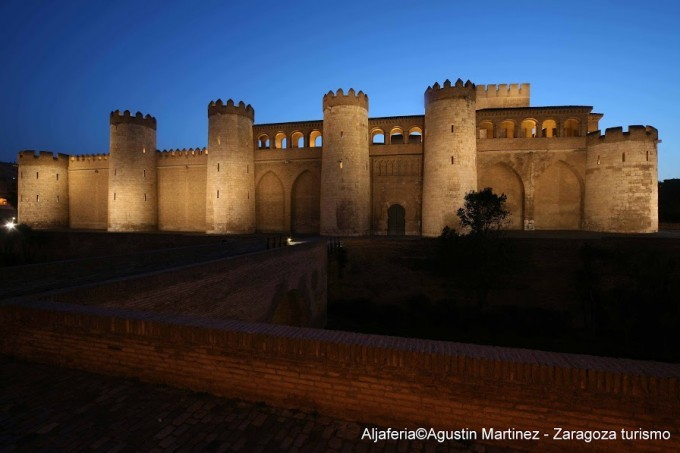 Le palais de la Aljaferia - Saragosse