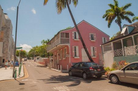 Dans les rues - Nassau - cuisine des Bahamas