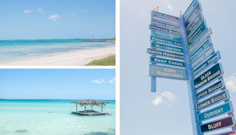 Paysages à Eleuthera aux Bahamas