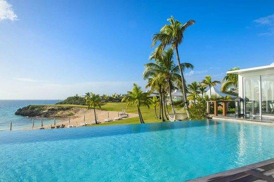 La piscine du Cove Eleuthera aux Bahamas