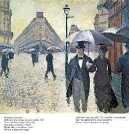 Rejoindre l'expo Caillebote à Madrid