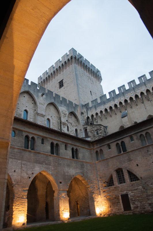 Au Palais des Papes à Avignon dans le #DivinVaucluse