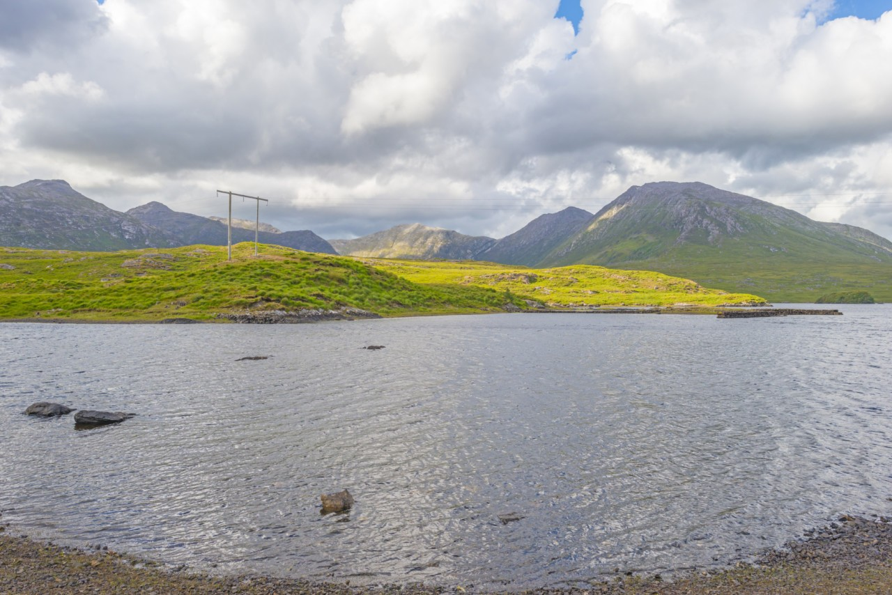 Vue imprenable sur les lacs du Connemara