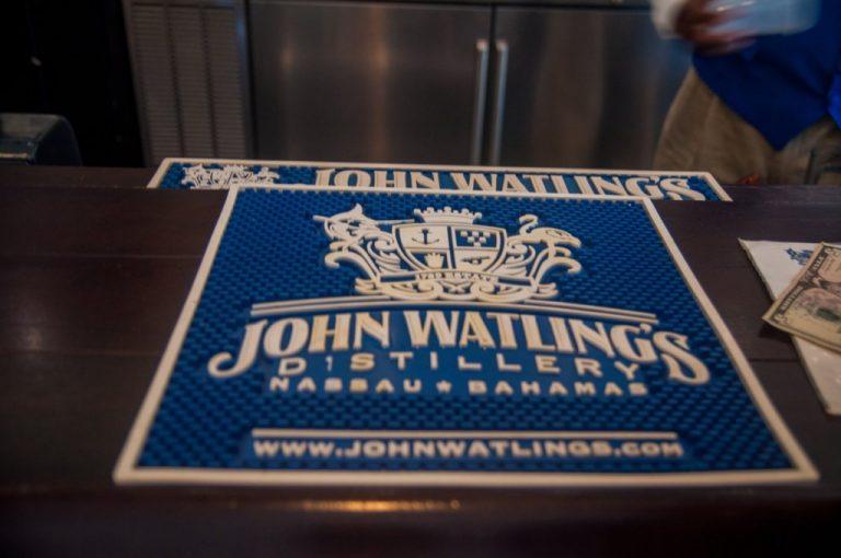 Au bar John Watlings - voyage aux Bahamas