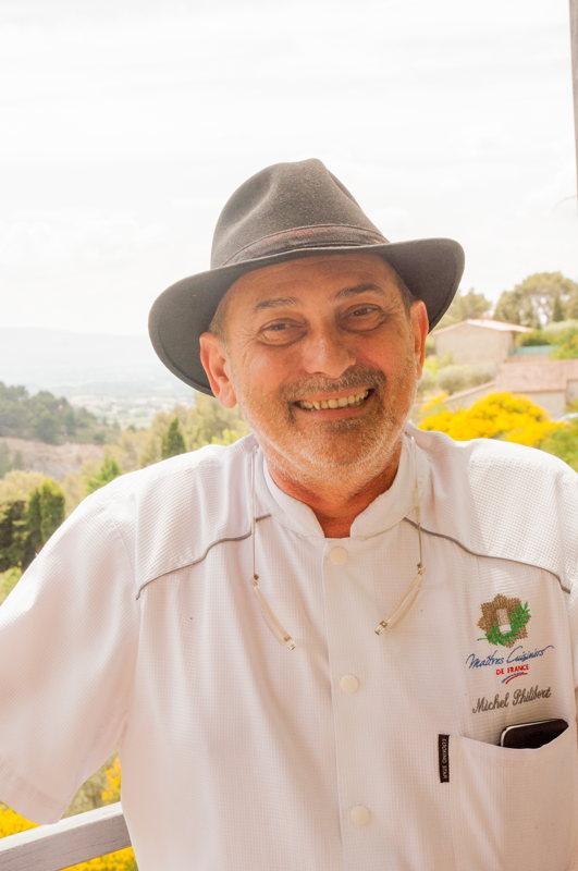 Michel Philibert, maitre cuisinier de France, nous a fait gouter sa cuisine du Vaucluse