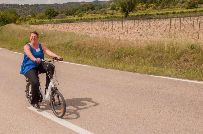 Balade en vélo électrique dans le Vaucluse avec Terrabike