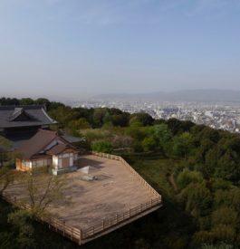 Prendre un thé à Kyoto au Japon