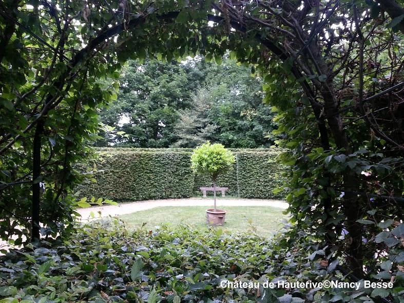 Voyage - jardins - château de Hauterive