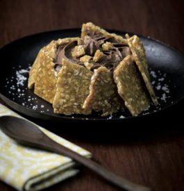 Gourmandise avec une recette de Tartelette Nougatine et mousse de chocolat