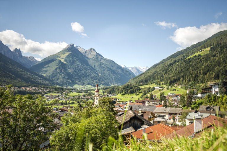 Un village-vallée de Stubai-Autriche