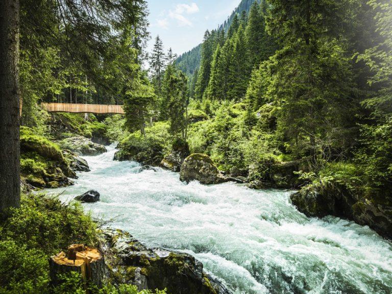 Voyage en Autriche - eaux sauvages - vallée de Stubai