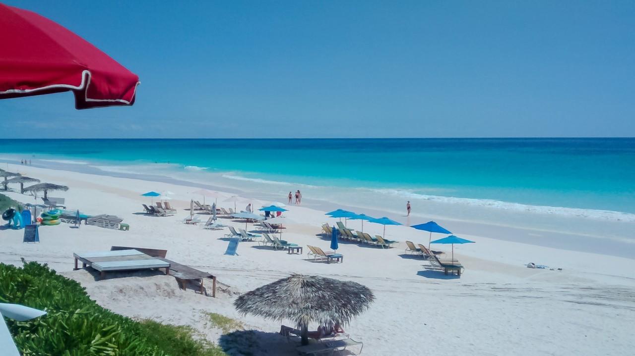 La plage sublime du Coral Sands