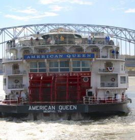 Partir sur un vieux Bateau à roue sur l'América Queen