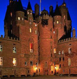 Rejoindre le Château de Glamis Ecosse