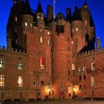 Dans le château de Glamis en Écosse