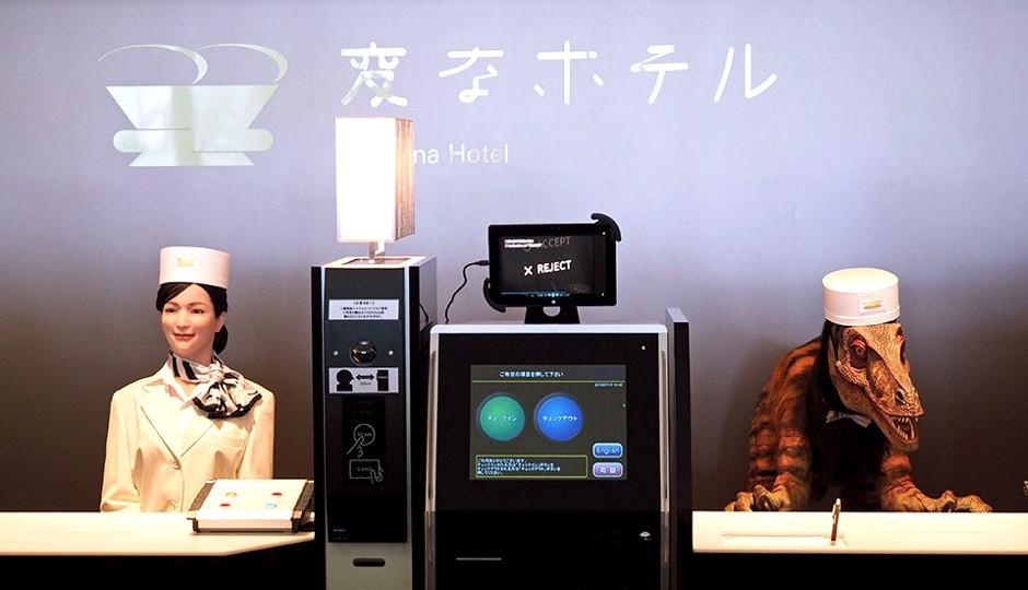 robot -hôtels