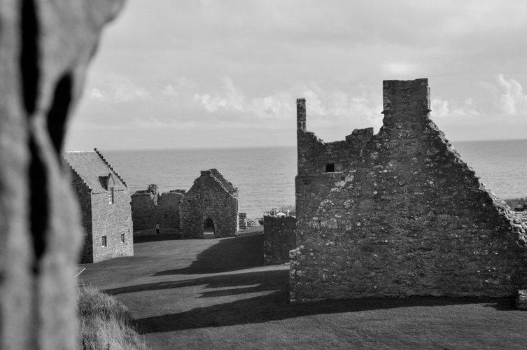 Château hanté en Écosse