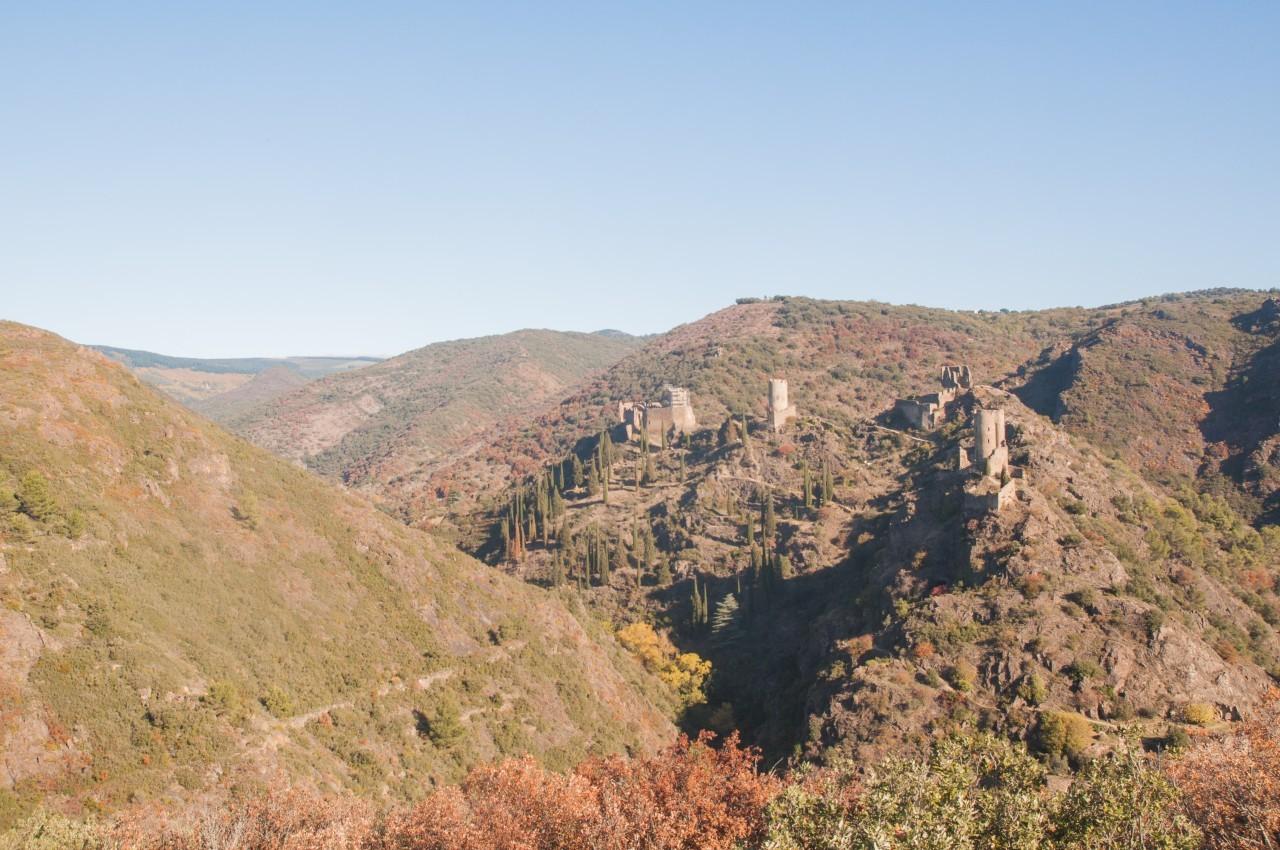 Les 4 châteaux de Lastours - Montagne Noire