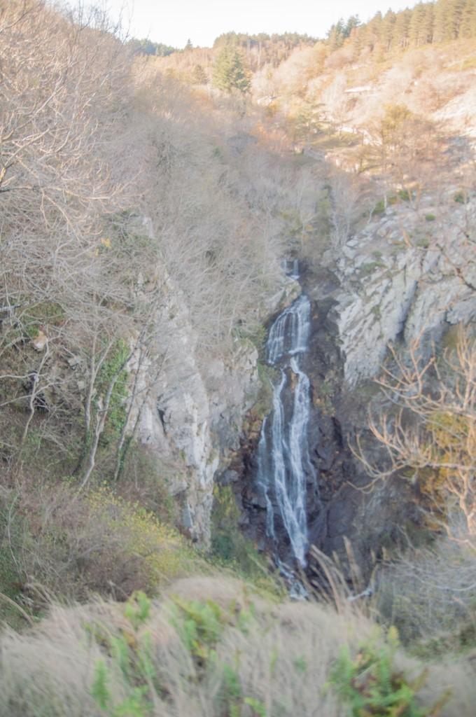 La cascade de Cupservies - Montagne Noire