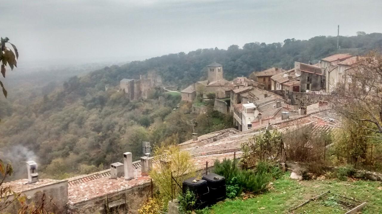 Un village - Montagne Noire