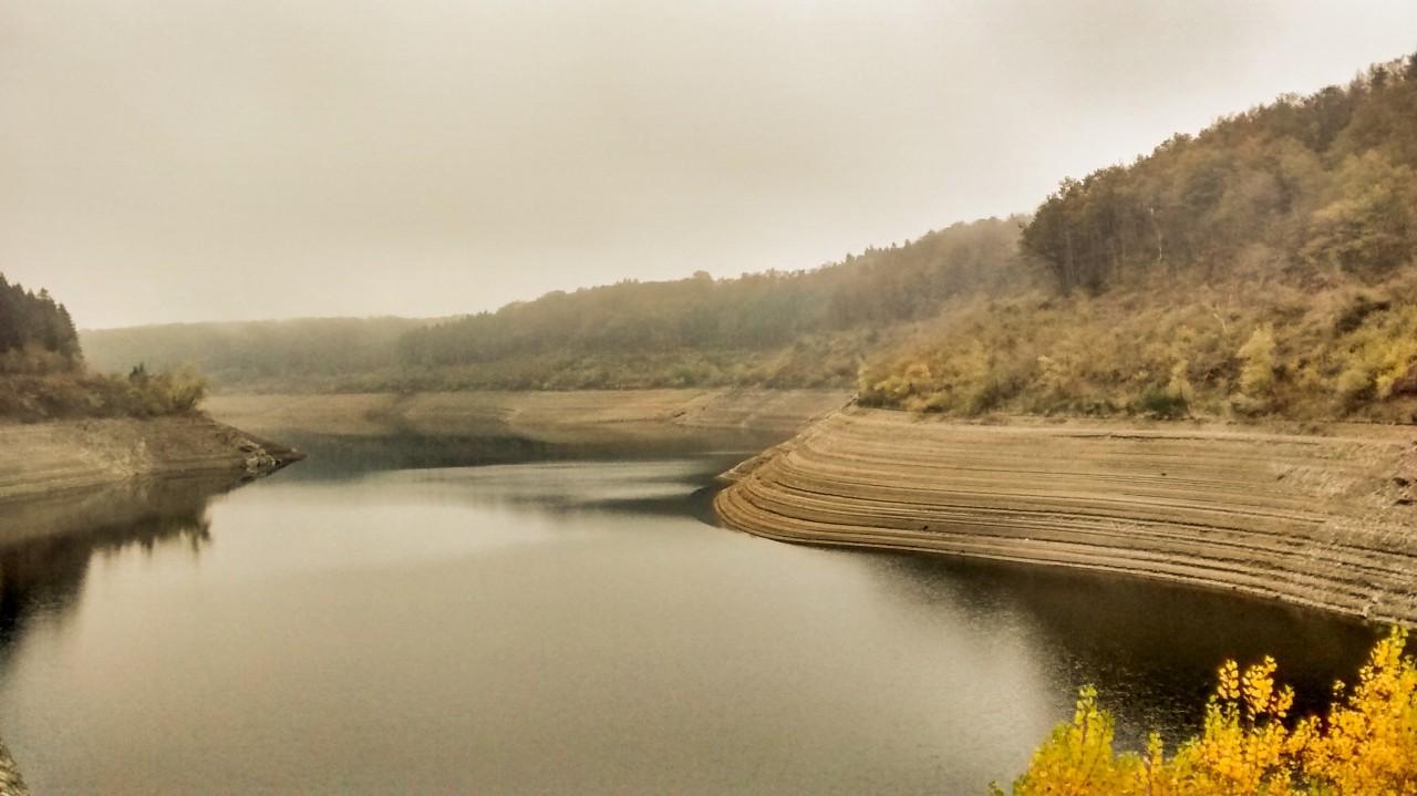 Le barrage des Cammazes - Montagne Noire