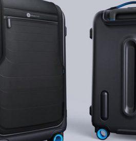 Bluesmart, la valise connectée en voyage