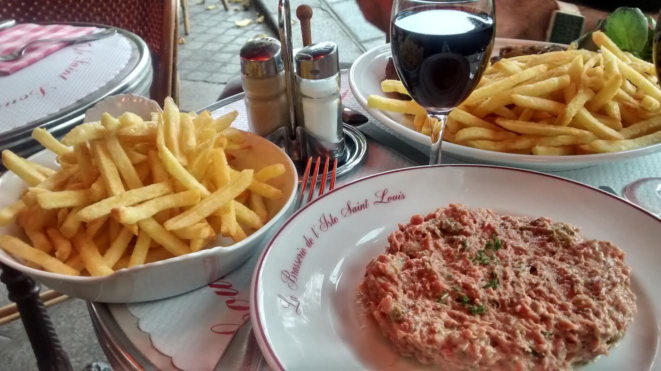 La brasserie de l'île Saint Louis - Paris