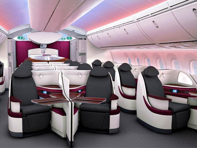 qatar airways dreamliner business class blog voyage. Black Bedroom Furniture Sets. Home Design Ideas