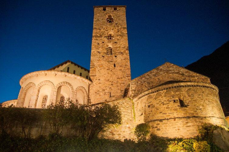 Découverte d'une église dans le vieux village d'Andorre la vieille
