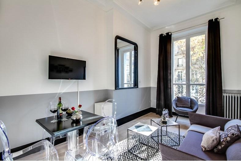 Décoration soignée et réussie au Sweet Inn à Paris