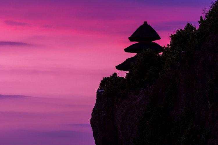 Paysage à Bali