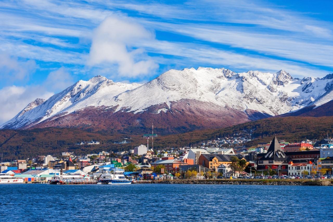Arriver à Ushuaïa en Argentine
