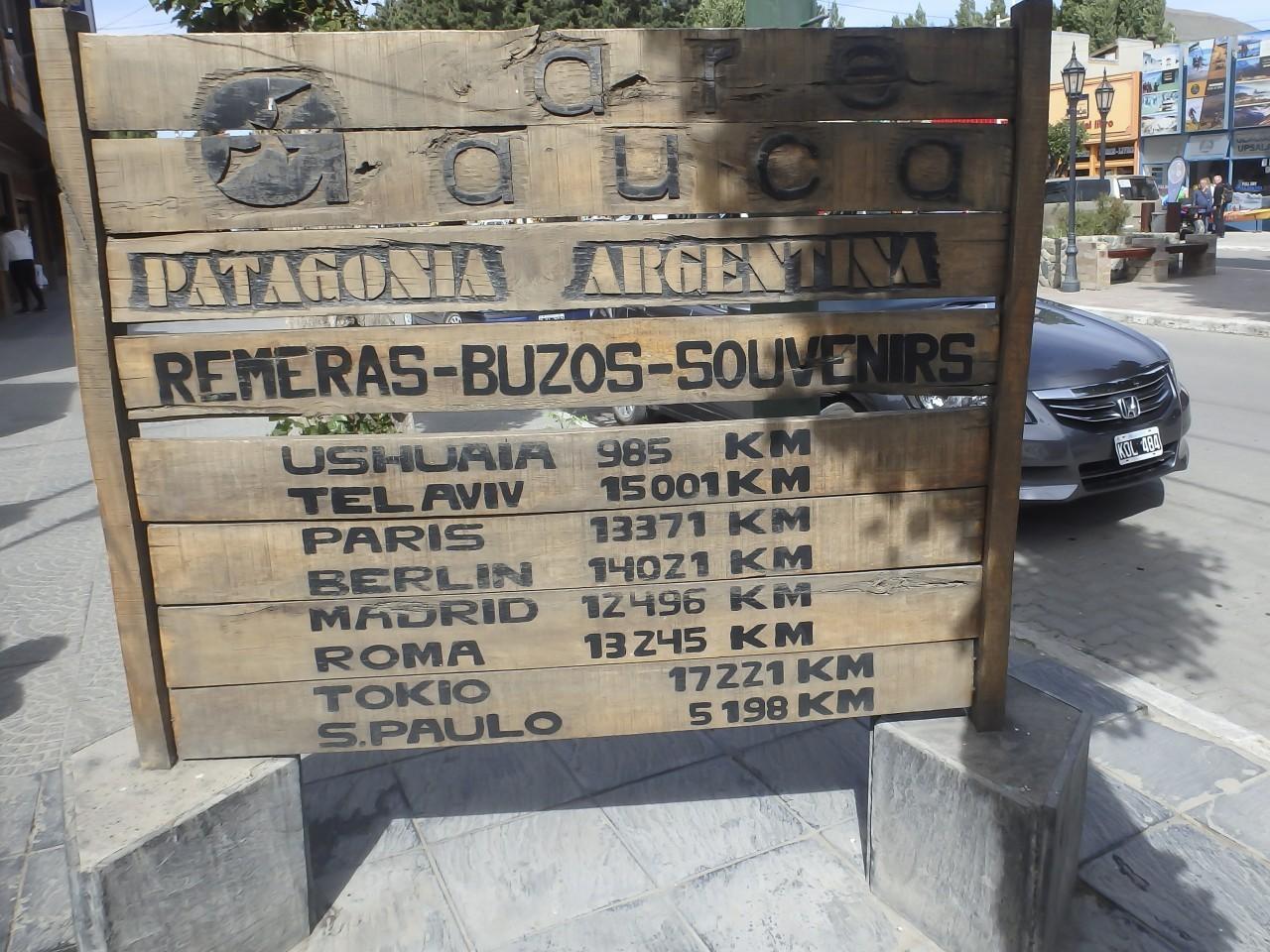 Arriver à Calafate en Argentine pour un road-trip