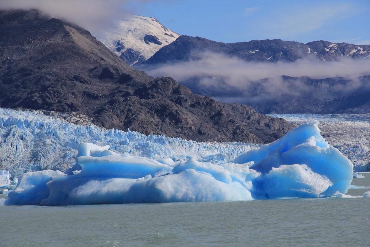 Le glacier el Pépito en Argentine