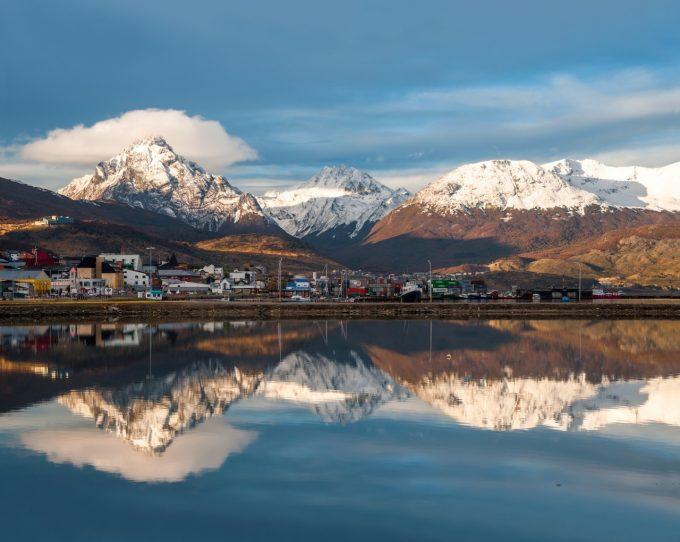 le calme et le silence à Ushuaïa !
