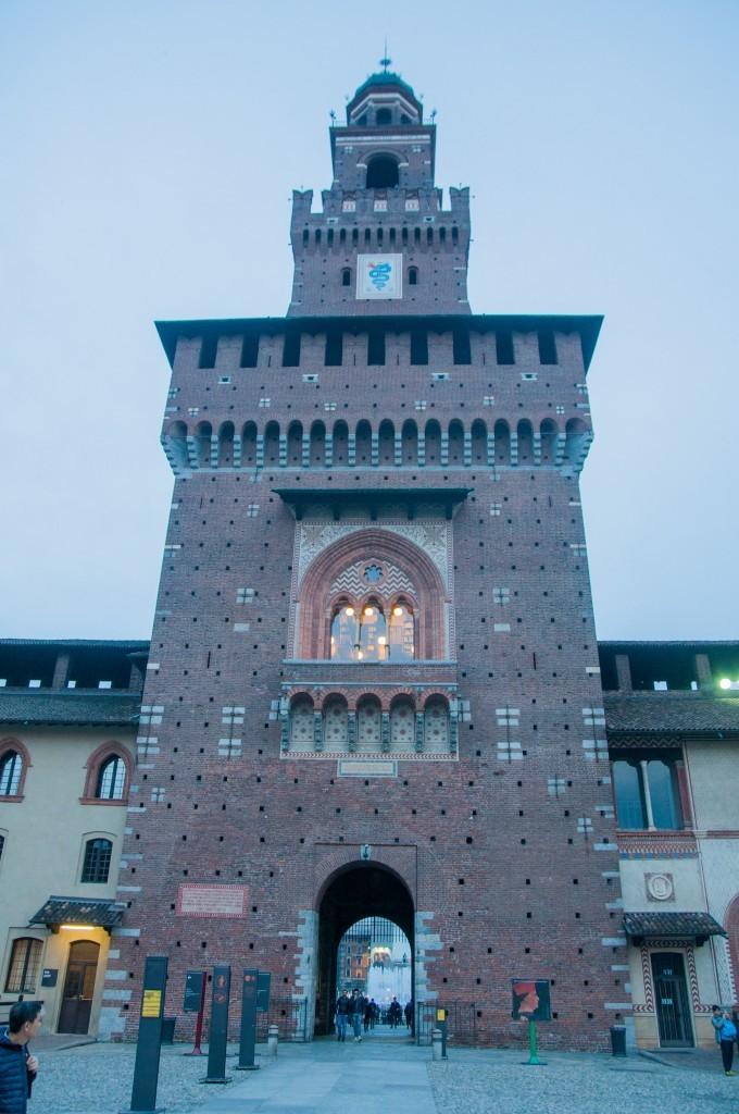 48h à Milan au Le Château Sforza dans le Parc Sempione