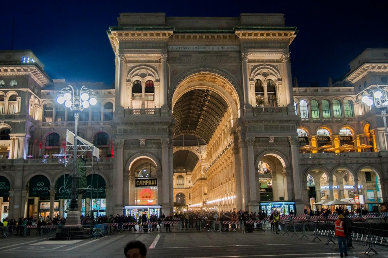 48h à Milan à la galerie