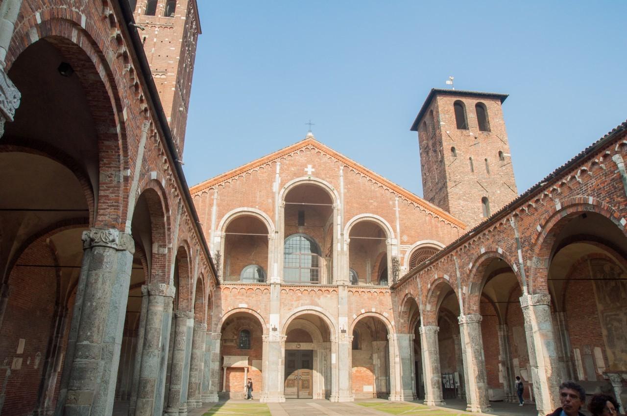 48h à Milan - basilique Saint-Ambroise