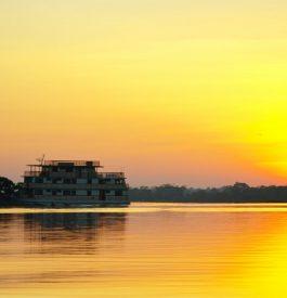 A Manaus sur l'Amazone au Brésil
