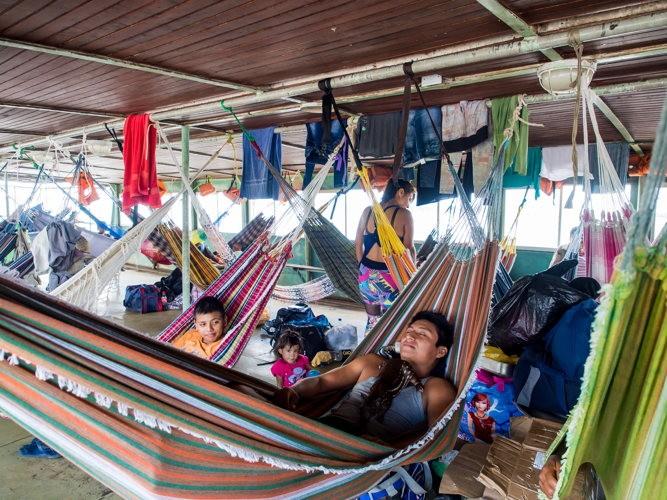 Dormir sur le bateau version low cost